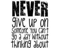 Dont give up 152